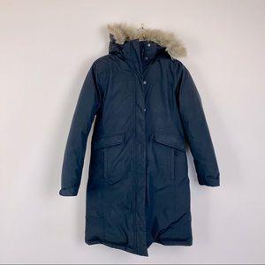 LL Bean Winter Down Parka w/Faux Fur Hood